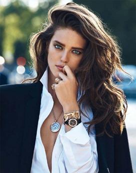 Мужские часы на девушке. Как и с чем носить мужские часы. Часы для делового и повседневного стиля (фото)
