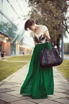 Почему стоит носить длину макси. Ваш стиль, макси платье, макси юбка (фото)