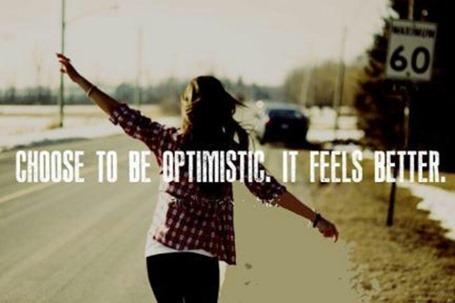 Как стать оптимисткой