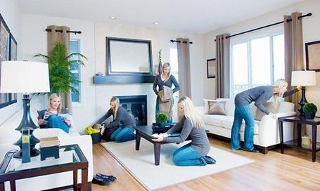 Есть ли польза здоровью и фигуре от домашней работы