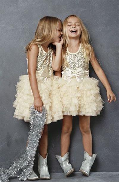 Как одеть девочку на праздник