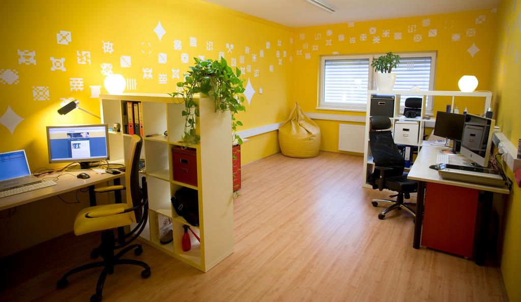 Цвет стен для офиса