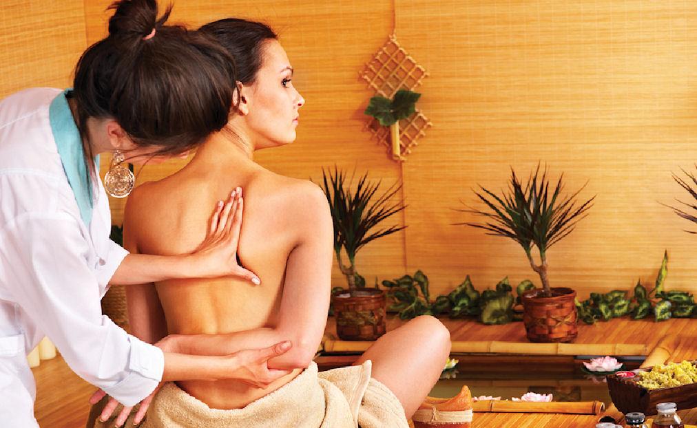 фото массаж частное