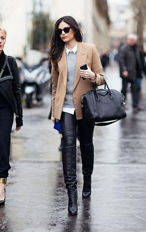 Деловой стиль одежды с сапогами и ботинками: можно ли сочетать?