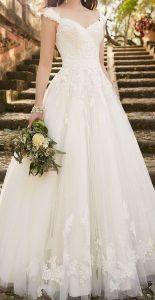 Как выбрать свадебное платье в зависимости от типа фигуры