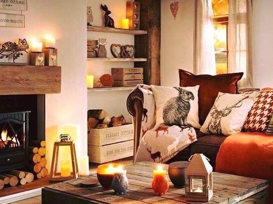 Готовимся к холодам: осеннее настроение в квартире