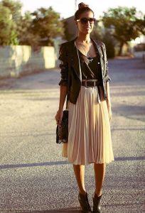 Женская кожаная куртка: как теперь носят