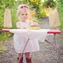 Как правильно гладить детские вещи?
