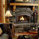 Камин в интерьере — стиль, тепло и уют