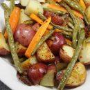 Рецепты вкусных гарниров: картошка в горшочках и не только